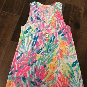 Lilly Pulitzer Essie Dress Sparkling Sands Medium